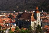 Black Church, Brasov landmark in Romania — Stock Photo