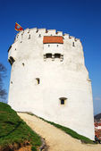 White Tower, in Brasov city, Romania — Stock Photo