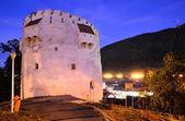 Bílá věž, brašov, rumunsko — Stock fotografie