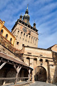 Wieża zegarowa, sighisoara, Rumunia — Zdjęcie stockowe