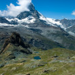 Matterhorn (Monte Cervino) mountain in Switzerland Alps - Photo