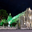Catania Cathedral in Sicily — Stock Photo