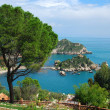 Bella Isola in Taormina, Sicily — Stock Photo #7621427