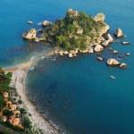 Isola Bella, Taormina, Sicily — Stock Photo #7621453