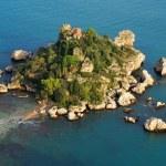 Isola Bella, Taormina, Sicily — Stock Photo