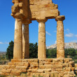 Royalty-Free Stock Photo: Dioscuri Temple of Agrigento, Sicily