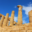 Ruins in agrigento, Sicily — Stock Photo