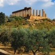Temple of June (Agrigento, Sicily) — Stock Photo