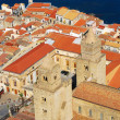 Cefalu, traditional landmark in Sicily - Stock Photo