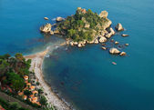 Isola Bella, Taormina, Sicily — Stock Photo