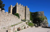 Norman castle in Erice, Sicily — Stock Photo
