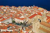 Cefalù, tradycyjny punkt orientacyjny na sycylii — Zdjęcie stockowe