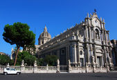 Catania cathedral, in Sicily — Stock Photo