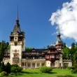 Peles Castle in Sinaia, Romania — Foto Stock