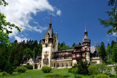 Peles Castle in Sinaia, Romania — Stock Photo