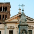 Church of Santa Francesca Romana — Stock Photo
