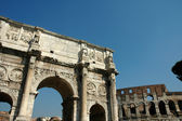 Arch of Titus 4 — Stock Photo
