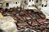 The ´Chouhara´ tannery 2 — Stock Photo