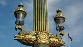 Lantern Paris — Stock Photo