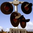Royalty-Free Stock Photo: Railway crossing