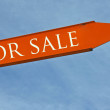 For sale sign — Stock Photo #7672245