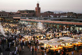 Jemaa el Fna square — Stock Photo