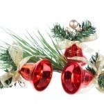 Three Christmas bell — Stock Photo