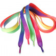 Royalty-Free Stock Photo: Multi-colored ropes for shoes.