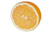 Amarillo naranja, rebanada — Foto de Stock