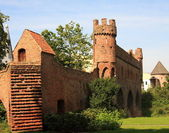 Ruins of a castle in Zutphen, Netherlands — Stock Photo
