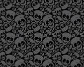 Wallpaper pattern skulls — Stock Vector