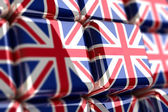 Union Jack-Cube — Stock Photo