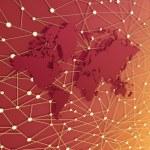 World Information Web — Stock Photo