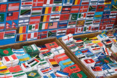 Set of international flags — Stock Photo