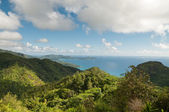 Mahe coastline Seychelles — Stock Photo