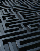 Dark maze — Stock Photo