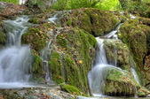 Waterfall in Plitvicka Jezera — Stockfoto