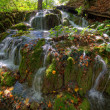 Stock Photo: Waterfall at PlitvickJezer- Plitvice