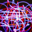Royalty-Free Stock Photo: Abstract light trails