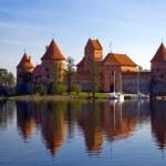 Trakai castle in Lithuania — Stock Photo