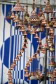 Pottery bells — Stock Photo