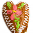 Gingerbread heart — Stock Photo #7298324