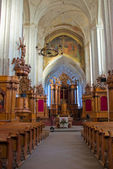 Interior of the Church of Bernardines' in Vilnius — Zdjęcie stockowe