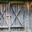 Barn-wood door - Stock Photo