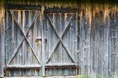 Barn-wood door — Stock Photo