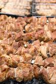 烤羊肉串 — 图库照片