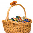 Basket of candies — Stock Photo #7517693