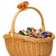 Royalty-Free Stock Photo: Basket of candies