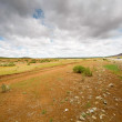 The endless steppes of Mongolia — Stock Photo