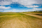 The endless steppes — Stock Photo
